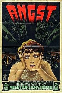 <i>Angst</i> (1928 film) 1928 film
