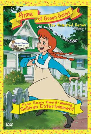 Anne of Green Gables: The Animated Series - DVD cover