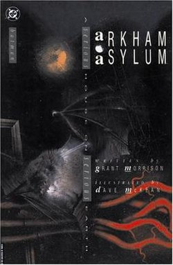 Image result for Arkham Asylum: A Serious House on Serious Earth 1989