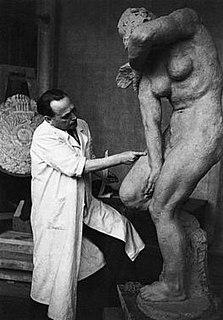 Antun Augustinčić Croatian sculptor, political commissar and university teacher