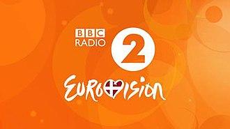 BBC Radio 2 Eurovision - Previous logo, from the 2014 Contest, held in Copenhagen.