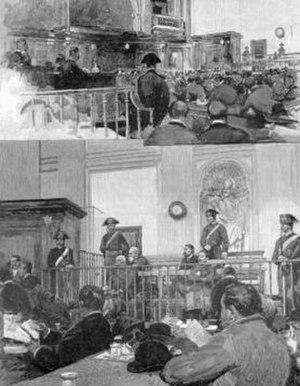 Banca Romana scandal - Banca Romana scandal trial