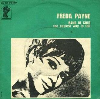 Band of Gold (Freda Payne song) - Image: Band of Gold Freda Payne