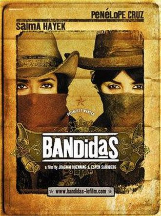 Bandidas - Theatrical release poster