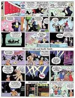 <i>Barney Google and Snuffy Smith</i> comic strip