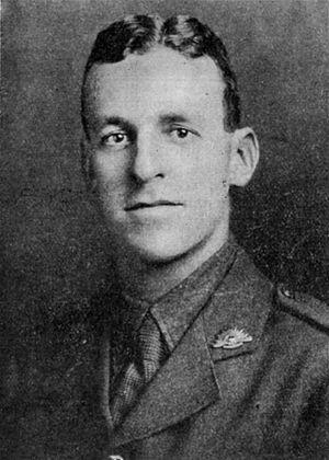 Amiens Gun - Lieutenant George Burrows, M.C. (and Bar)