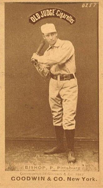 Bill Bishop (1880s pitcher) - Image: Bill Bishop (1880s pitcher)