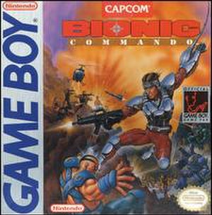 Bionic Commando (Game Boy) - Image: Bionic commando gb