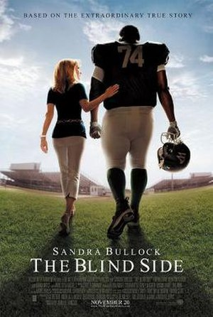 The Blind Side (film) - Theatrical release poster