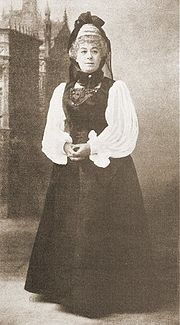 Rosina Brandram as the Baroness