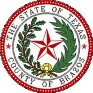 Brazos County, Texas - Image: Brazos County tx seal