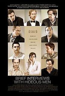 <i>Brief Interviews with Hideous Men</i> (film) 2009 American film