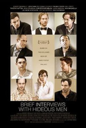 Brief Interviews with Hideous Men (film) - Theatrical release poster