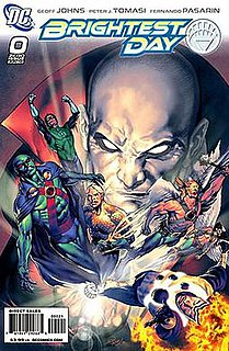 Brightest Day DC Comics crossover storyline