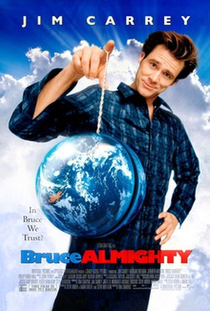 Bruce Almighty - Theatrical release poster