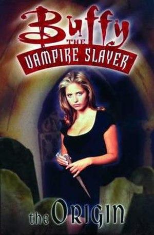 The Origin (Buffy comic) - Cover