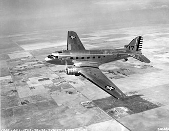 370th Air Expeditionary Wing - Douglas C-39 transport, a military modified version of the DC-2