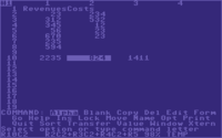 Multiplan on the C64.