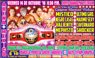 CMLL Universal Championship (2016) Mexican professional wrestling tournament
