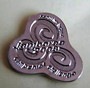 Irish Scout Jamboree - Camp Chief Challenge Pin
