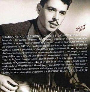 Chansons ou Versions Inédites de Jeunesse - Image: Chansons ou Versions