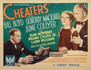 <i>Cheaters</i> (1934 film) 1934 film by Phil Rosen