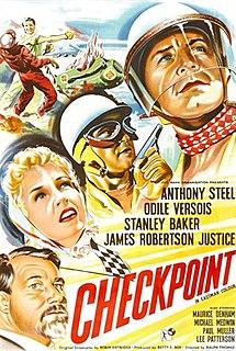 <i>Checkpoint</i> (1956 film) 1956 film by Ralph Thomas