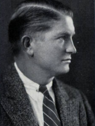 Chile Walsh - Walsh pictured in The Archive 1929, Saint Louis yearbook