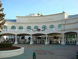 Churchill Downs - Churchill Downs front entrance gate