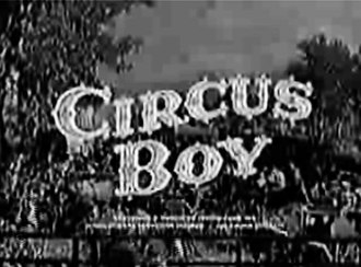 Circus Boy - Title screen