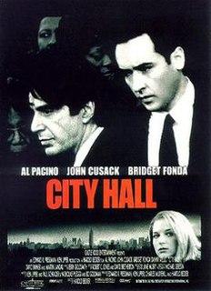 <i>City Hall</i> (film) 1996 Harold Becker film