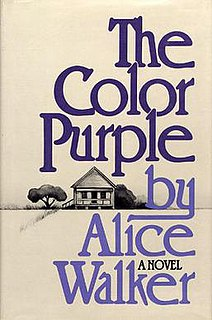 <i>The Color Purple</i> 1982 novel by Alice Walker