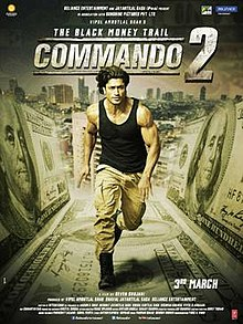 Resultado de imagem para commando 2: the black money trail