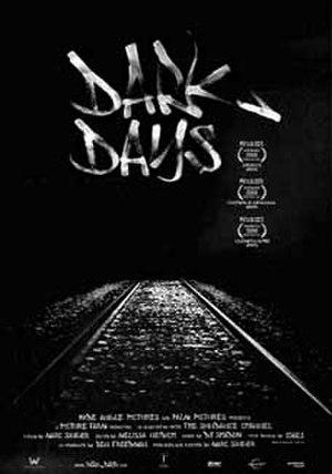 Dark Days (film) - Image: Dark Days theatrical poster
