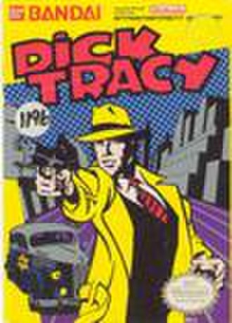 Dick Tracy (video game) - Dick Tracy NES box art