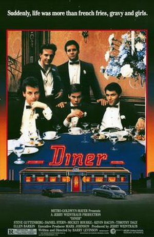 Diner (film) - theatrical release poster