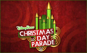 Disney Parks Christmas Day Parade - Image: Disney Parks Xmas Day Parade Logo