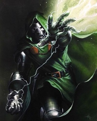 Picture of a book: Doctor Doom