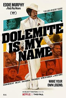 <i>Dolemite Is My Name</i> 2019 film directed by Craig Brewer