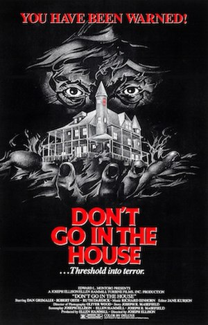 Don't Go in the House - Image: Don't Go in the House Film Poster