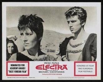 Electra (1962 film) - Image: Electra Film Poster