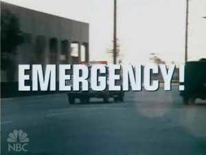 Emergency! - Image: Emergency Logo
