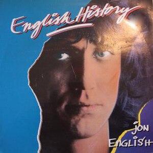 English History (album) - Image: English History (SE) by Jon English