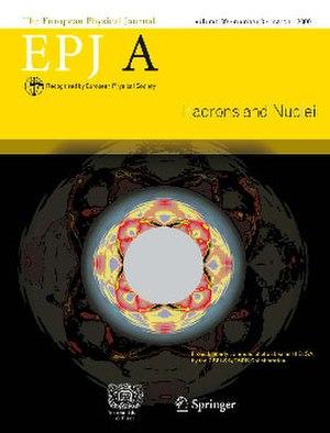 European Physical Journal A - Image: Epja 03mar