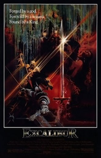 Excalibur (film) - Theatrical release poster by Bob Peak