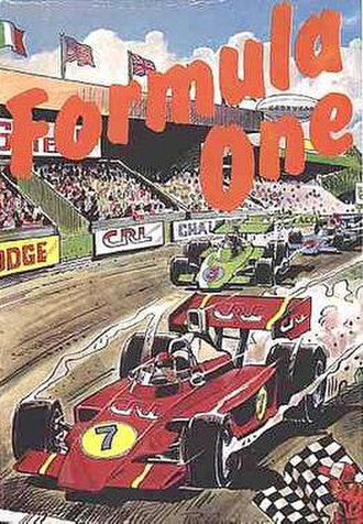 Formula One (1985 video game) - Image: Formula One (1985 videogame) cover