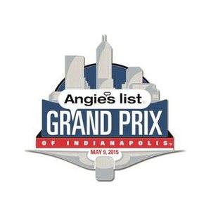 IndyCar Grand Prix - Image: Grand Prix of Indianapolis 2015 logo