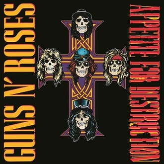 Appetite for Destruction - Image: Gunsn Roses Appetitefor Destructionalbumcove r