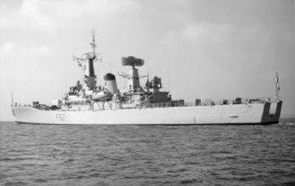 HMS Juno (F52) - Image: HMS Juno (F52)