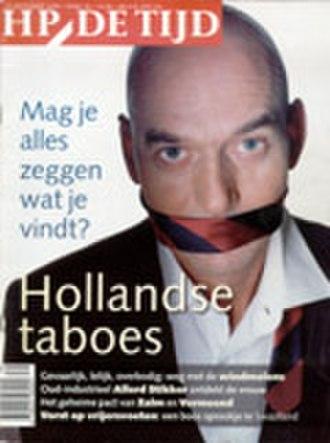 HP/De Tijd - Cover of HP/De Tijd (issue 39, 2000)